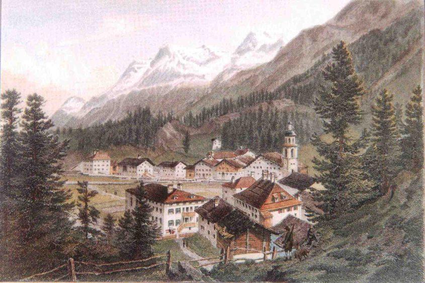 Do. 19.7. Sils Maria um 1860