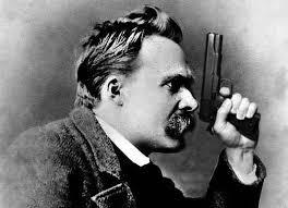 Nietzsche mit Pistole