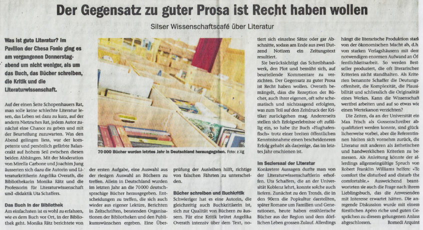 Wissenschaftsapero_Zeitungsartikel