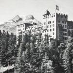Spaziergang Chastè und Waldhaus - Hotel Waldhaus, Mitte 20er Jahre